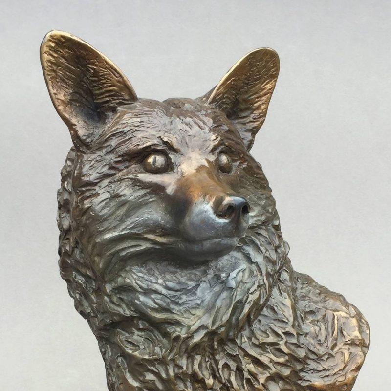Buste de renard