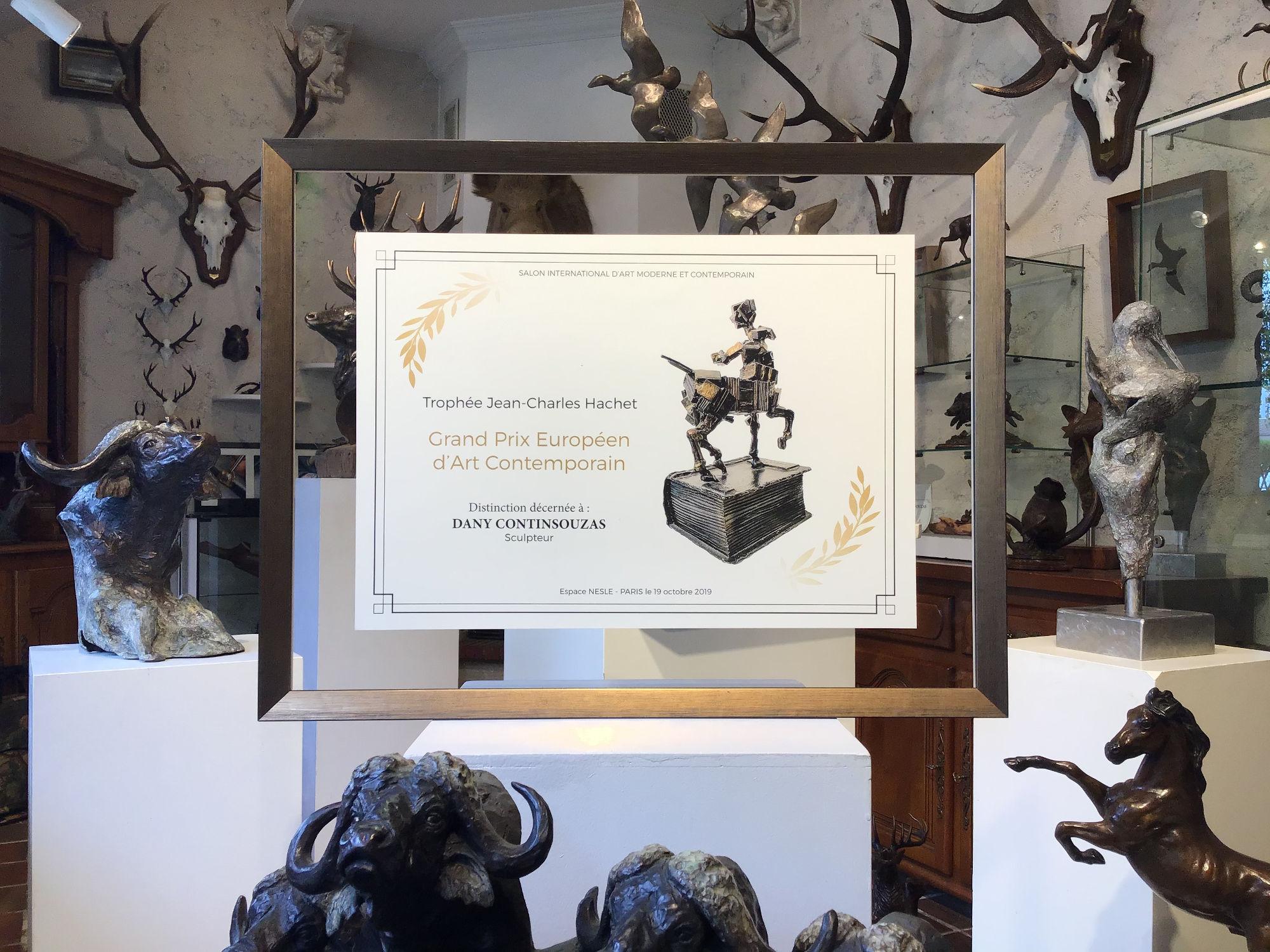 trophée hachet - prix d'art contemporain européen 2020 - Sculpture